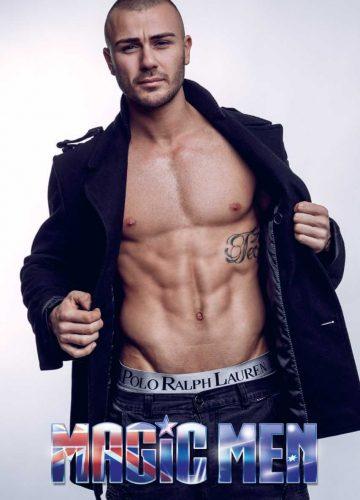 Melbourne male stripper Francesco