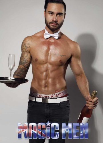 topless waiter Charlie