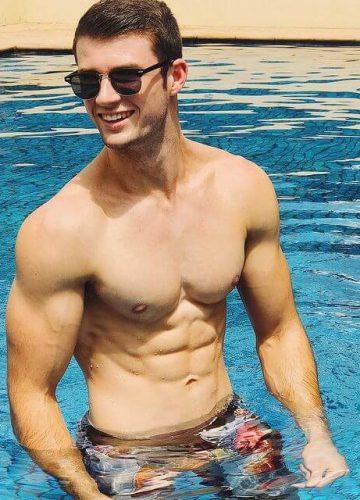 mitch brisbane topless waiter