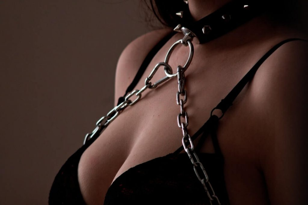 Bondage and restraints in breast can be a good foreplay