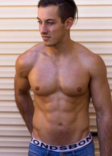 Perth topless waiter Rick