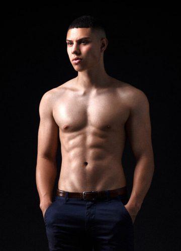 Perth topless waiter Alex