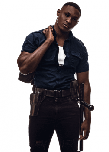 Melbourne Tyreese topless waiter