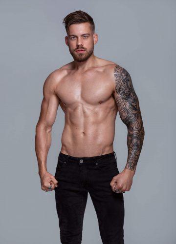 Brisbane topless waiter Jordan C